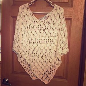 Maurices Sweaters - Crocheted Shawl